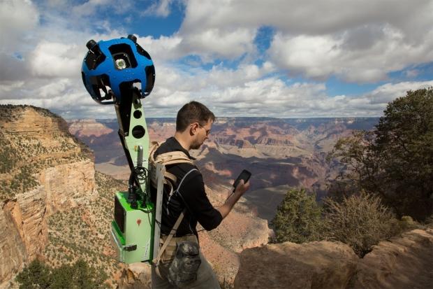 Trekker é utilizado para captar imagens do Grand Canyon (Foto: Divulgação/Google) (Foto: Trekker é utilizado para captar imagens do Grand Canyon (Foto: Divulgação/Google))