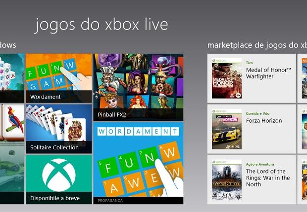 Xbox Live mostra perfil e loja de Jogos pra Windows e Xbox (Foto: Reprodução/Edivaldo Brito) (Foto: Xbox Live mostra perfil e loja de Jogos pra Windows e Xbox (Foto: Reprodução/Edivaldo Brito))