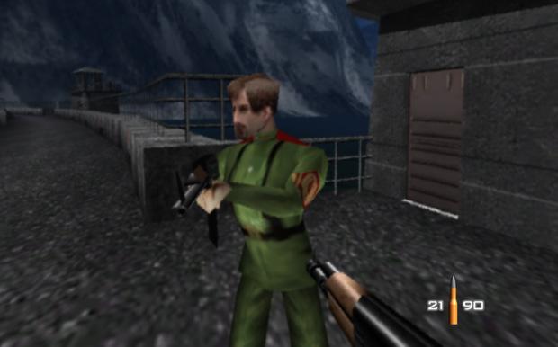 Goldeneye tinha gráficos avançados para a época (Foto: Reprodução)