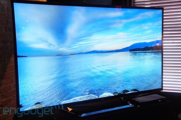 A LG lançou nos EUA seu primeiro televisor com definição 4K por R$ 40 mil (Foto: Reprodução/Engadget)