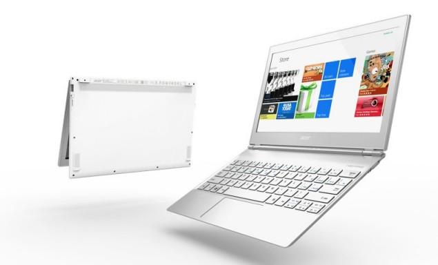 Aspire S7 é o novo produto da Acer com Windows 8 (Foto: Reprodução)