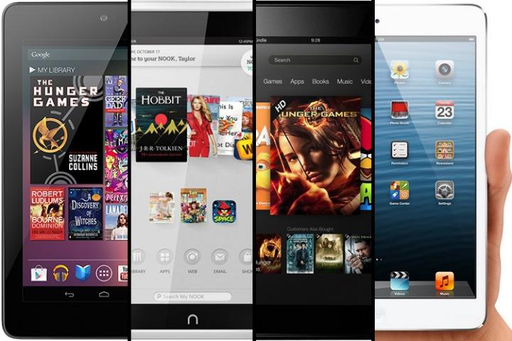 A batalha dos tablets compactos se acirra com a chegada do iPad Mini (Foto: Reprodução)