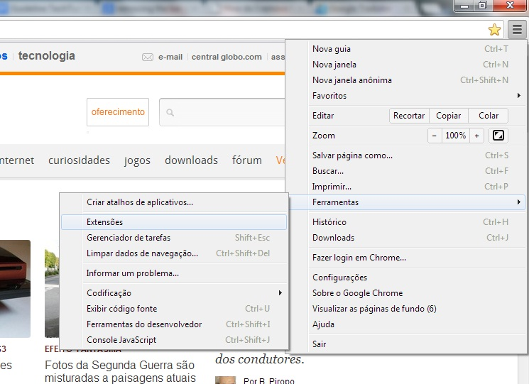 <b>Como remover</b> a <b>barra</b> ask do Google Chrome | Dicas e Tutoriais <b>...</b> 2014