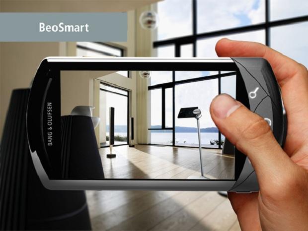 Projetado por brasileiro, BeoSmart é smartphone de luxo (Foto: Divulgação)