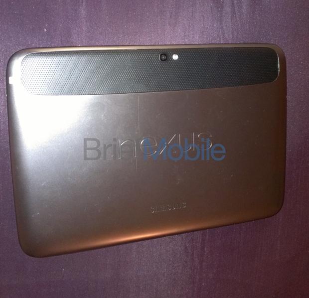 Google Nexus 10 com traseira de alumínio (Foto: Reprodução/BriefMobile)