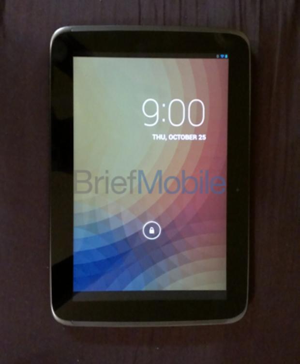 Google Nexus 10 (Foto: Reprodução/Brief Mobile)
