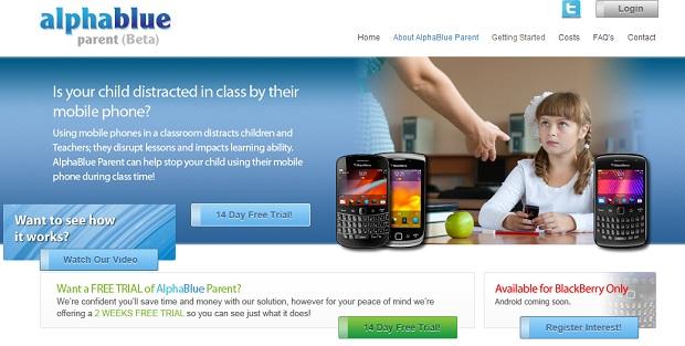 AlphaBlue Parent permite controle total do celular do seu filho (Foto: Reprodução)