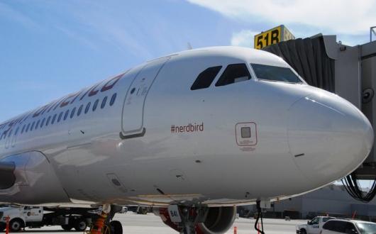 Avião conhecido pela hashtag #nerdbird (Foto: Reprodução)