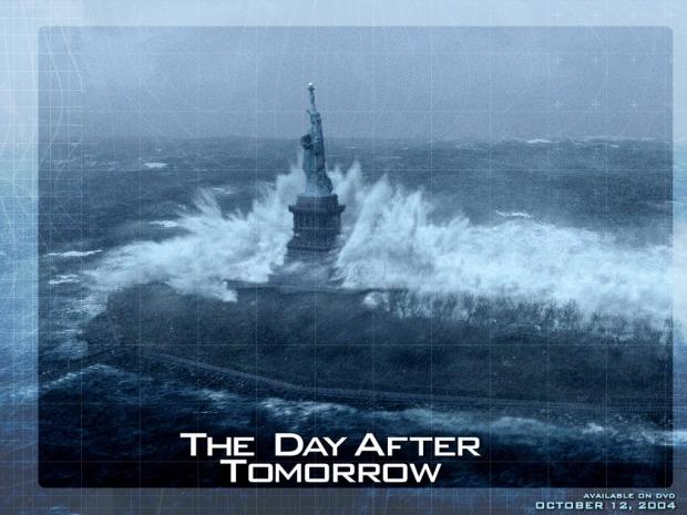 A imagem original faz parte da campanha promocional do filme The Day After Tomorrow (Foto: Reprodução/Mashable) (Foto: A imagem original faz parte da campanha promocional do filme The Day After Tomorrow (Foto: Reprodução/Mashable))