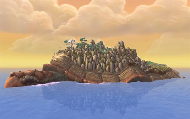A ilha viva de Mists of Pandaria (Foto: Divulgação) (Foto: A ilha viva de Mists of Pandaria (Foto: Divulgação))