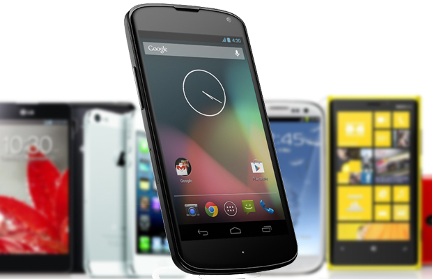 Nexus 4 conseguirá se destacar diante de tanta concorrência? (Foto: Arte / TechTudo)