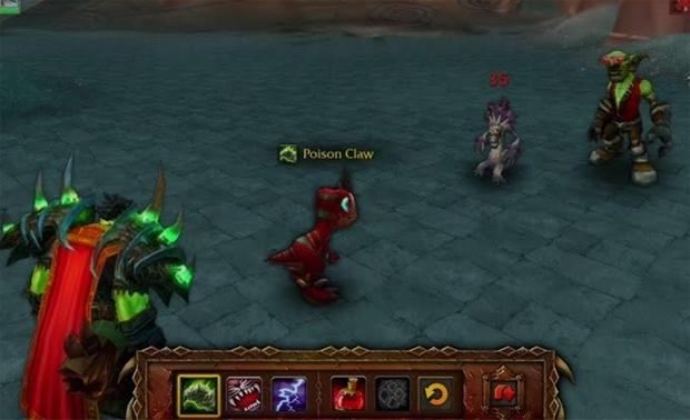Batalha de mascotes em ação (Foto: Divulgação) (Foto: Batalha de mascotes em ação (Foto: Divulgação))