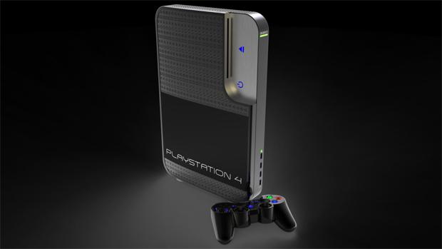 O PlayStation 4 dos designers na cor preta (Foto: Reprodução)