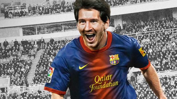 Messi foi o garoto-propaganda de Fifa esse ano (Foto: Divulgação)