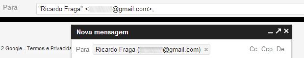 Opção de exclusão de contatos ficou similar ao Google+ (Foto: Reprodução/Ricardo Fraga)