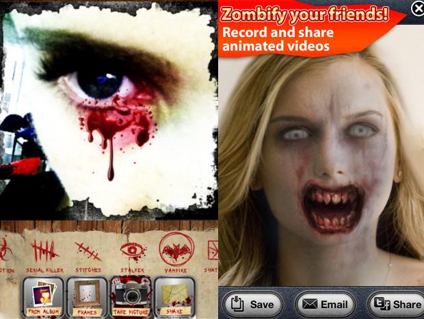 Horror Cam e ZombieBooth (Foto: Divulgação)
