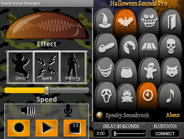 Scary Voice Changer e Halloween Sounds (Foto: Divulgação)