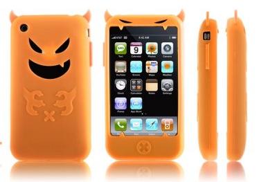 Case de silicone para iPhone 3G e 3GS (Foto: Reprodução)