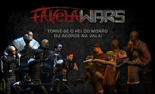 Favela Wars é um game brasileiro de estratégia (Foto: Divulgação)