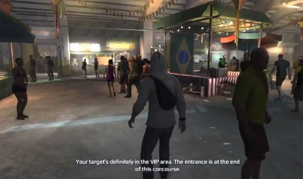 Cena de Assassin's Creed 3 se passa no Brasil (Foto: Reprodução)