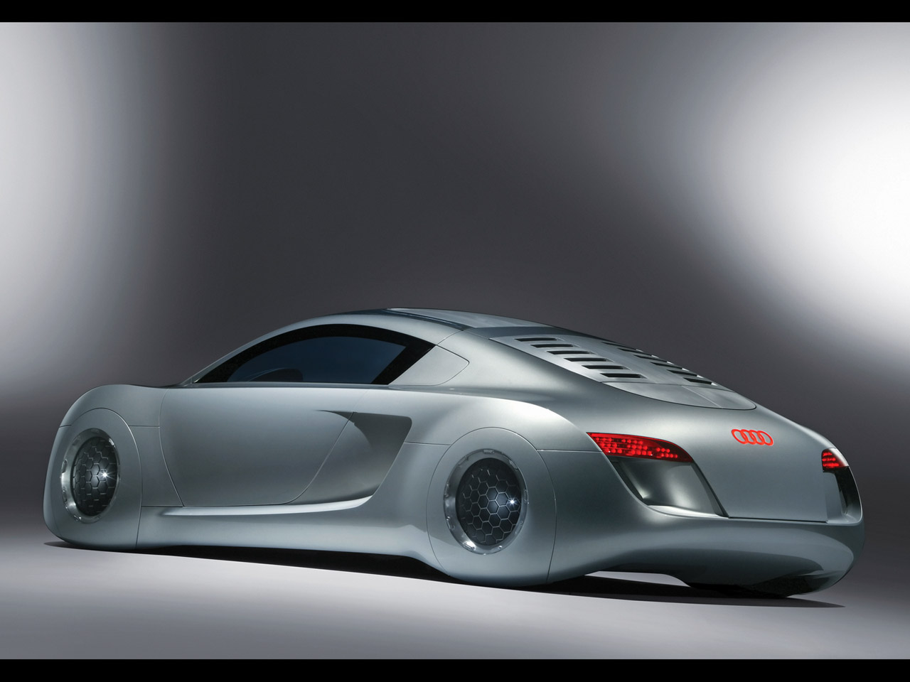 Audi utilizado em Eu, Robô (Foto: Reprodução)