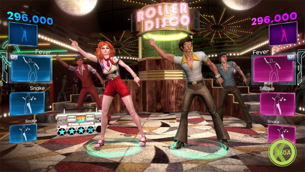 O jogador viaja pelo tempo em Dance Central 3 (Foto: Divulgação) (Foto: O jogador viaja pelo tempo em Dance Central 3 (Foto: Divulgação))