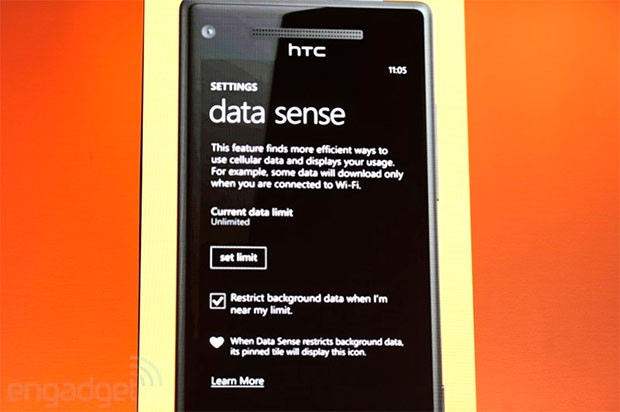 Data Sense vai ser disponibilizado primeiro para Verizon (Foto: Reprodução)
