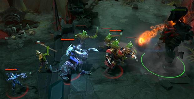 Dota 2 tem jogabilidade que lembra o primeiro Dota (Foto: Reprodução)
