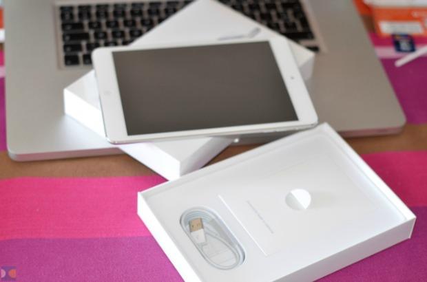 Este é o novo iPad Mini já fora da caixa (Foto: Reprodução)
