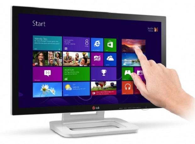 LG ET83 é o mais novo monitor, da LG, sensível ao toque (Foto: Reprodução)