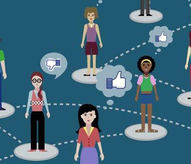 Convite para grupos na rede social (Foto: Reprodução)