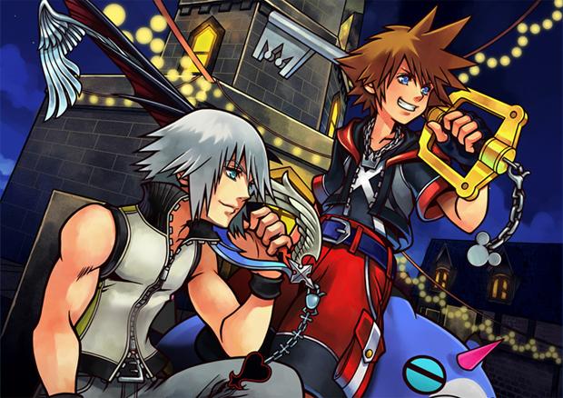 Sora e Riku retornam em Kingdom Hearts 3D (Foto: Divulgação) (Foto: Sora e Riku retornam em Kingdom Hearts 3D (Foto: Divulgação))