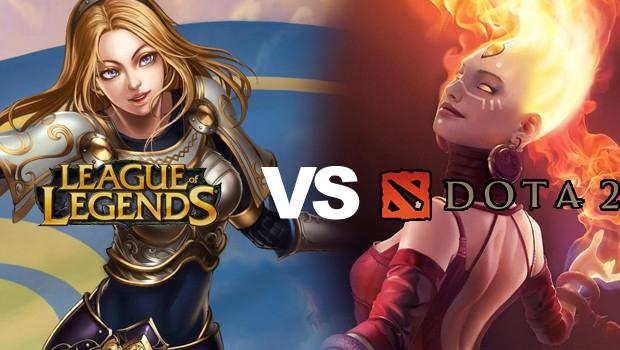 League of Legends versus Dota 2: Quem ganha? (Foto: Reprodução)