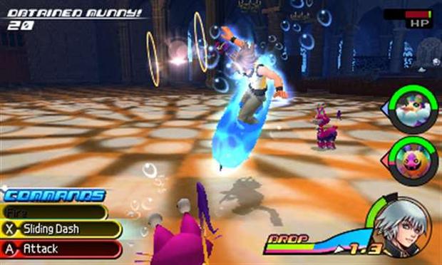 Kingdom Hearts 3D apresenta jogabilidade confusa (Foto: Divulgação) (Foto: Kingdom Hearts 3D apresenta jogabilidade confusa (Foto: Divulgação))