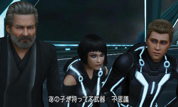 Mundo de Tron é uma das novidades em Kingdom Hearts 3D (Foto: Divulgação) (Foto: Mundo de Tron é uma das novidades em Kingdom Hearts 3D (Foto: Divulgação))
