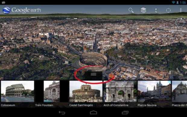 Novo Google Earth 7 está cheio de recursos diferentes (Foto: Reprodução)