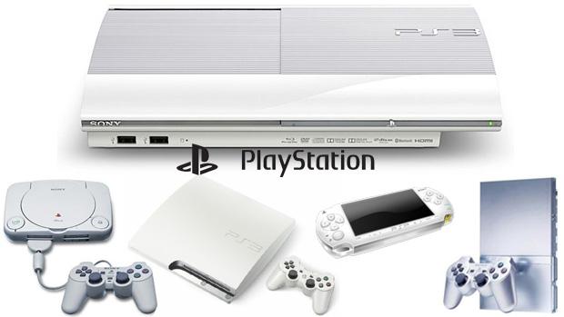 A história de revisões da marca PlayStation (Foto: Reprodução/Rafael Monteiro)