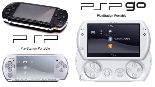 PSP, PSP Slim e PSP Go (Foto: Reprodução/Rafael Monteiro)