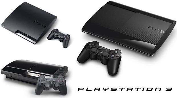 """PlayStation 3, PlayStation 3 Slim e PlayStation 3 """"Super Slim"""" (Foto: Reprodução/Rafael Monteiro)"""