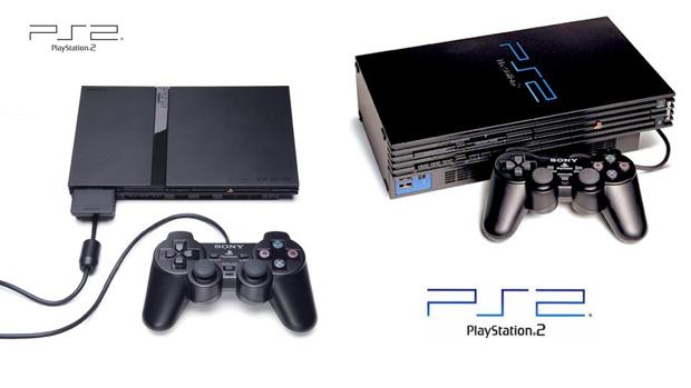 PlayStation 2 e PlayStation 2 Slim (Foto: Reprodução/Rafael Monteiro)
