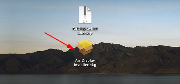 Download do Air Display (Foto: Reprodução/Hugo Carvalho)
