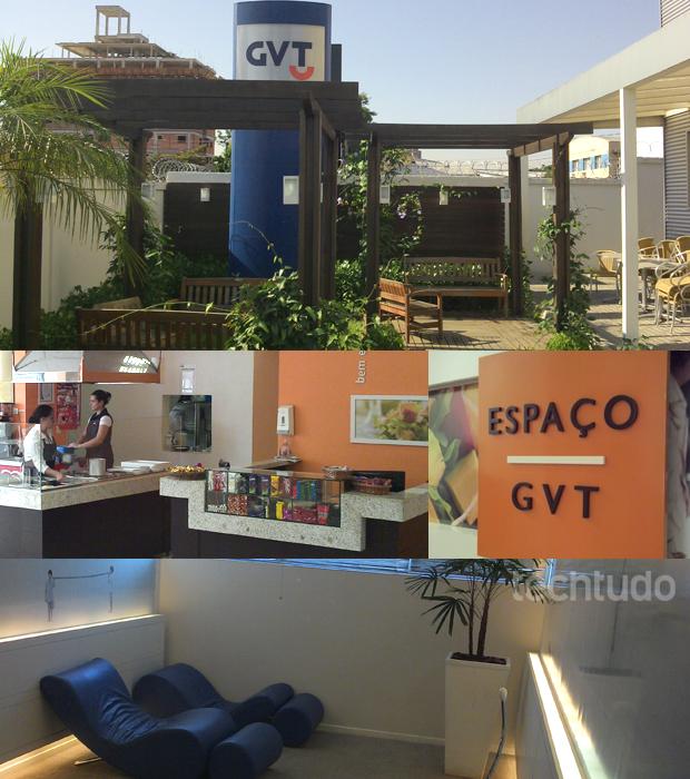 Ambiente de trabalho tranquilo, com jardim, refeitório e sala para descansar (Foto: Allan Melo / TechTudo)