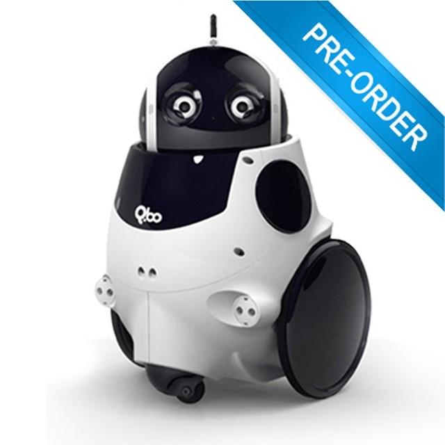 Imagem de divulgação do Q.bo, o robô faz-tudo da Intel (Foto: Divulgação)