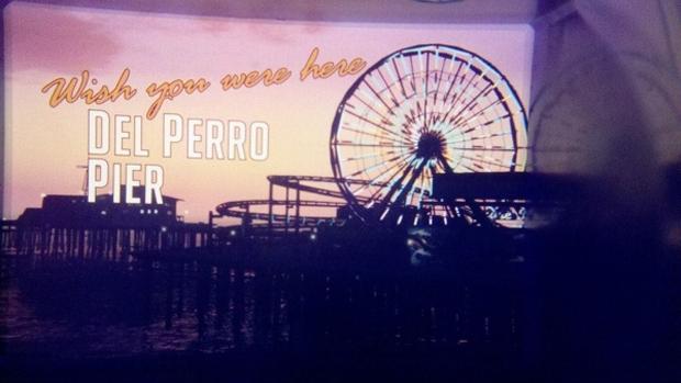 Del Perro Pier e sua roda gigante marcam a vista de GTA 5 (Foto: Eurogamer)