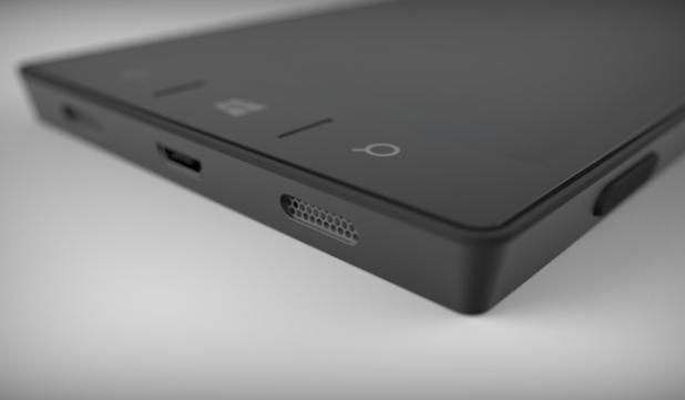 Foto conceitual do primeiro smartphone próprio da Microsoft (Foto: Reprodução / BGR)