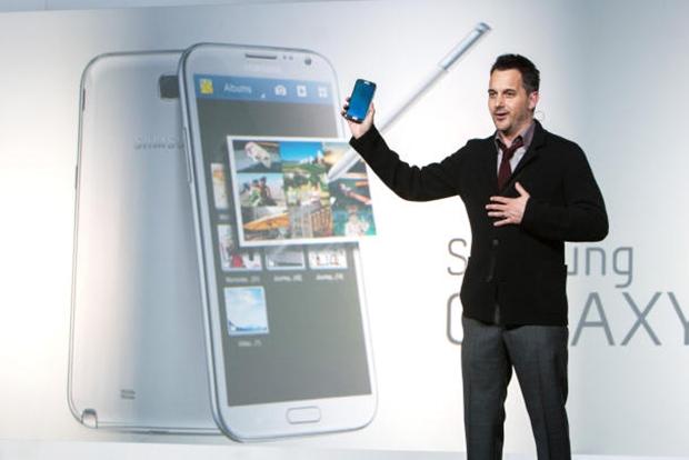 Samsung já vendeu 3 milhões de unidades de seus Galaxy Note 2 (Foto: Reprodução/Cnet)