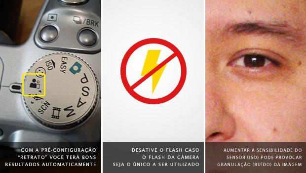 Aumentar a sensibilidade do sensor pode diminuir a qualidade da imagem (Foto: Reprodução/Adriano Hamaguchi)