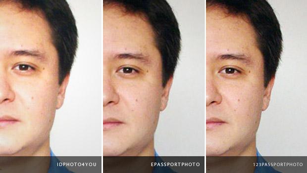 Comparativo entre os sites que oferecem preparo de foto 3x4 para impressão (Foto: Reprodução/Adriano Hamaguchi)
