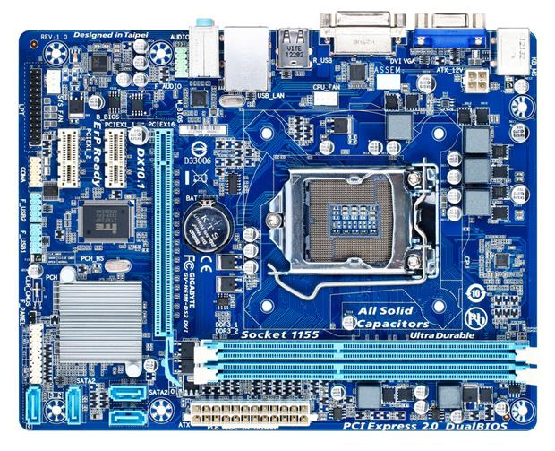 Novas placas da Gigabyte são dedicadas ao consumidor do mercado de entrada (Foto: Reprodução)