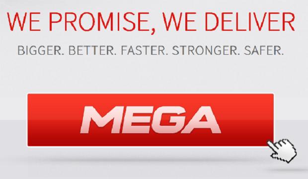 Página do Mega anunciada por Kim Doctom há uma semana (Foto: Reprodução)